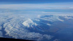Grönland foto taget från en Airbus 340